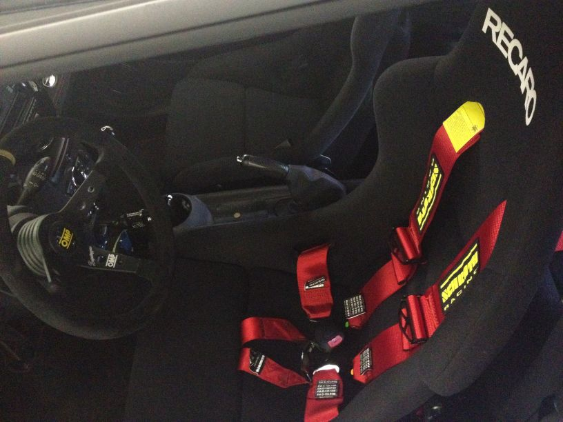 Recaro Pole Position Rennschalensitz
