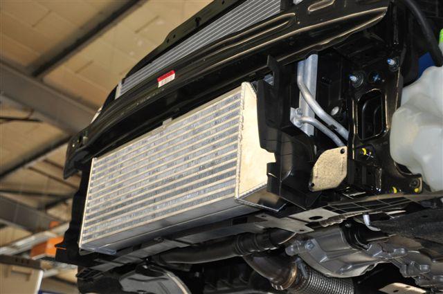 HG-Motorsport- Ladeluftkühler mit TÜV- Teilegutachten