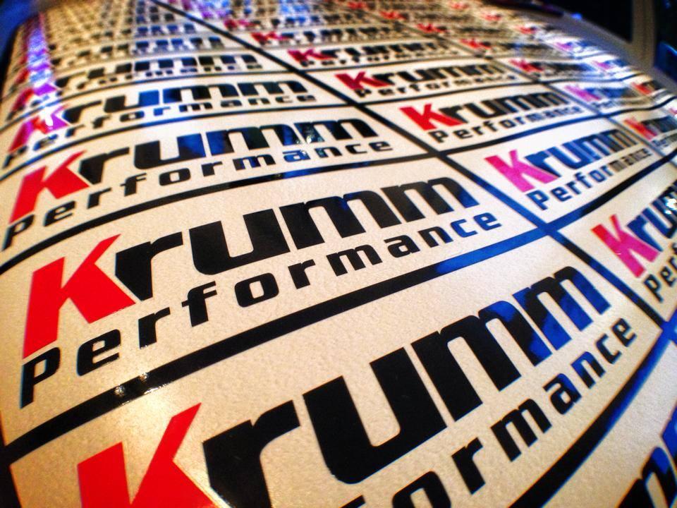 Krumm- Performance Aufkleber